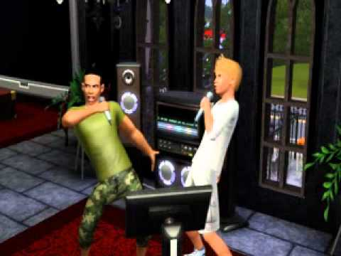 Cocoa and Curon Sing Karaoke