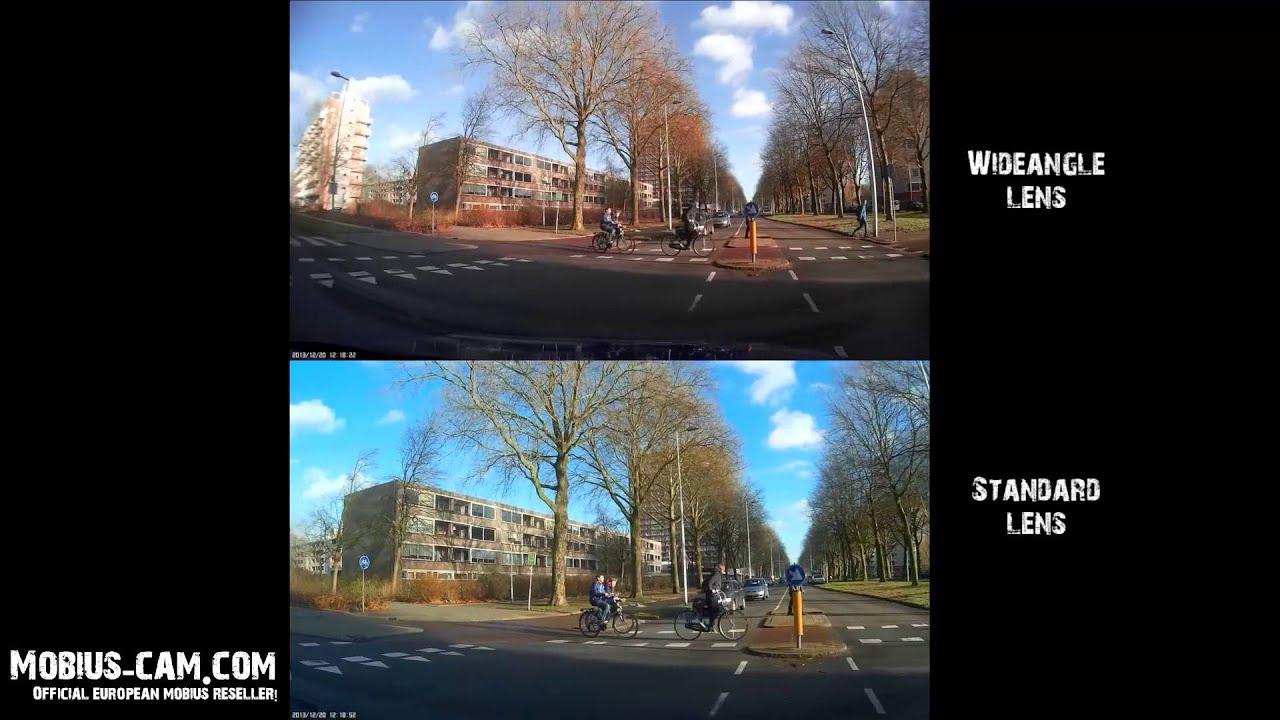 Mobius Wide Angle Vs Standard Lens
