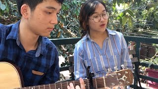 🎧🎼 (Acoustic Guitar) Mình yêu nhau đi - Hương Giang 12A5