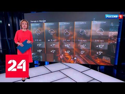 Погода в столице: убираем теплые вещи, но достаем зонты - Россия 24