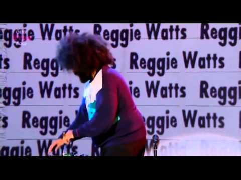 Hilarious Reggie Watts live on Russell Howards Good News