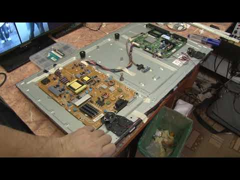 166` Philips 32PFL3517T/60 Ремонт матрицы, запчасти