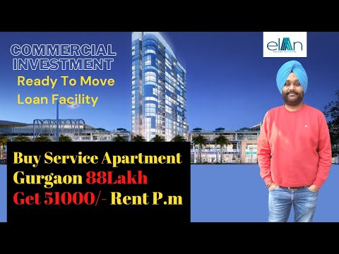 Service Apartments in gurgaon Elan Mercado I Property invest