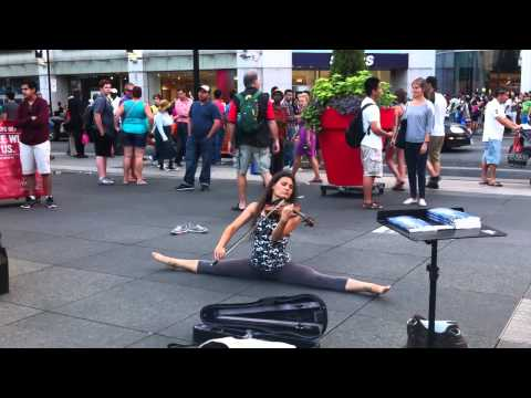 Violin Dance Dundas Square Part 7   Tango 3