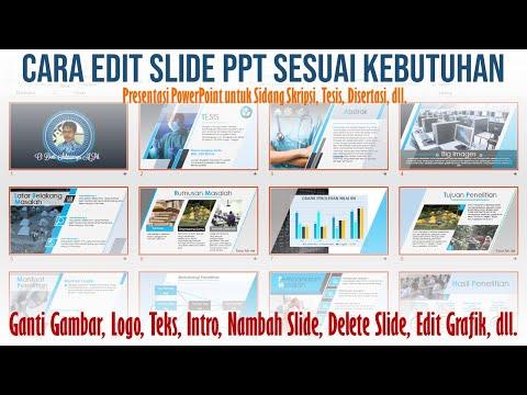 Cara Edit Gambar Logo Teks pada Slide PPT Sesuai Kebutuhan Presentasi