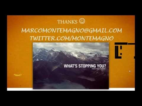 Come fare Web Marketing in Italia nel 2012 in 6 mosse (Marco Montemagno)