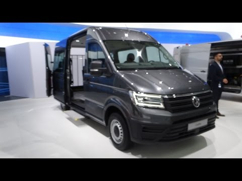 2017 Volkswagen Crafter - Exterior and Interior - IAA Hannover 2016