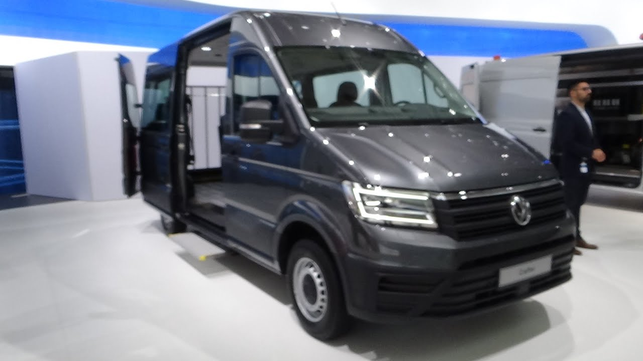 2017 volkswagen crafter - exterior and interior - iaa hannover