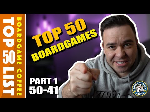 Top 50 Board Games, Part 1 Of 5