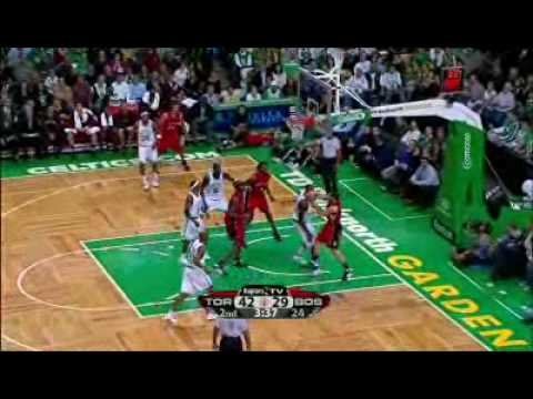 Toronto Raptors vs Boston Celtics Nov.10/08