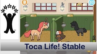 Toca Life Stable -- play with horses and ponies