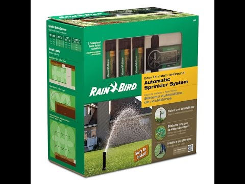 Rain Bird 32ETI In-Ground Automatic Sprinkler System Kit (Review) (part 1 Of 2)