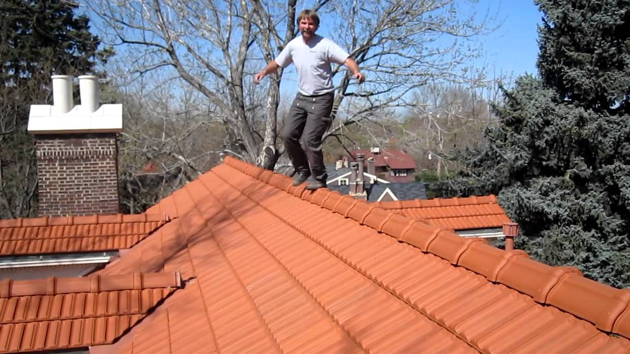 Walking On Roof Tiles   YouTube