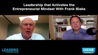 345   Leadership that Activates the Entrepreneurial Mindset With Frank Blake thumbnail