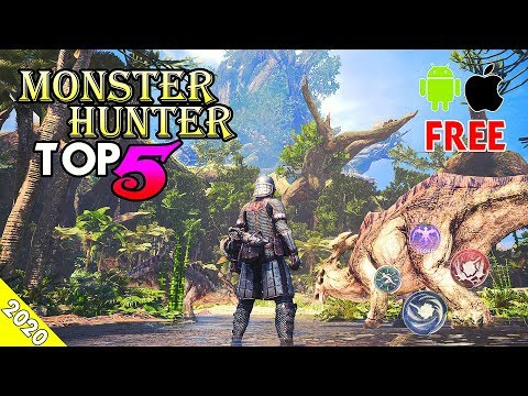 Top 5 Monster Hunter Mobile Games In 2020 (Android/IOS)