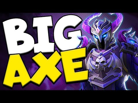 BIG AXE PLAYS | Realm Royale Warrior Solo Gameplay