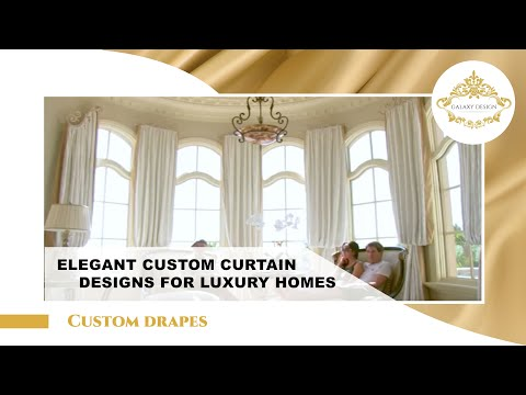 Video #11: Room Design Ideas | Drapery Hardware | Swarovski Crystal Elements | Los Angeles