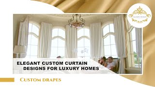 Video #11: Room Design Ideas | Drapery Hardware | Swarovski Crystal Elements | Los Angeles