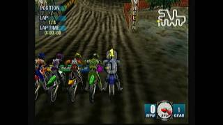 Let's Play Jeremy McGrath Supercross Sega Dreamcast HD