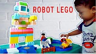 Cara Membuat Robot dari Lego yang Besar | Play Lego