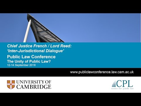 Justice French & Lord Reed: Inter-Jurisdictional Dialogue