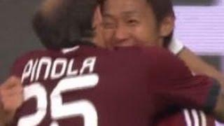 清武弘嗣ゴール Hiroshi Kiyotake Goal ニュルンベルクVS細貝ヘルタベルリン 8月18日 thumbnail