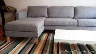 Ikea Karlstad Sofa And Chaise Longue Design
