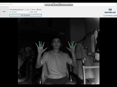 Finger Tracking with Kinect V2