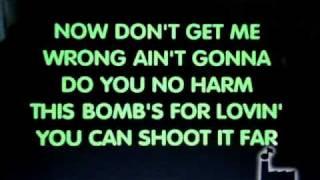 Me singing Sex Bomb  (Tom Jones)