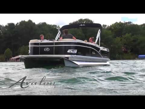 2014 Pontoon Boats - Avalon Catalina DRL - Avalon Pontoons - Affordable Pontoon Boats