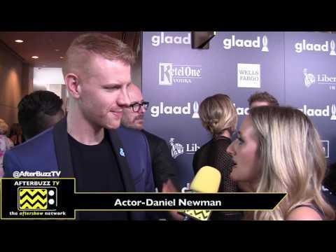 Daniel Newman Interview | Glaad Awards 2017
