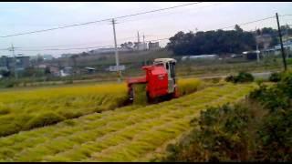 Harvest Rice Machine