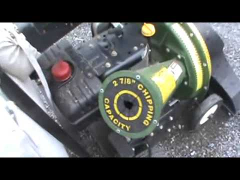 Mighty Mac Leaf Vac And Chipper Combo Self Propelled For