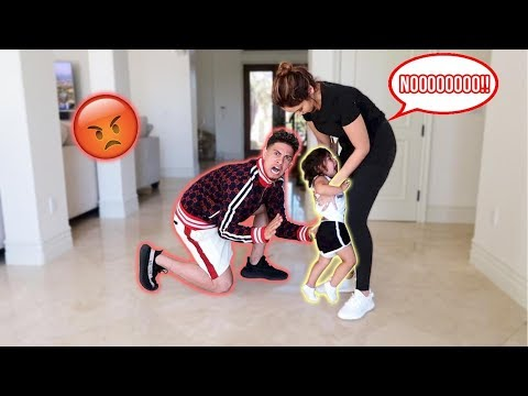 WE HAD TO SPANK ELLE FOR THE FIRST TIME!!!