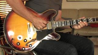 1968 Gibson ES-345 Part3 (checking more varitone sounds)
