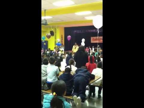 Foster elementary school award 11/16/11