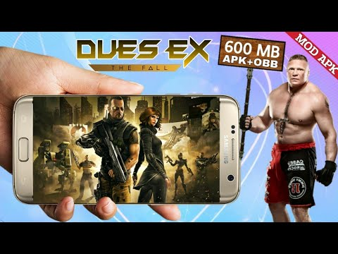 DUES EX The Fall Mod Apk (Unlimited Money) Highly Compressed Download For All Android With Gameplay