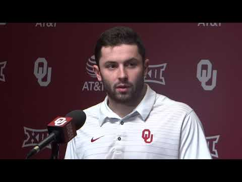 OU's Baker Mayfield breaks dow baker mayfield