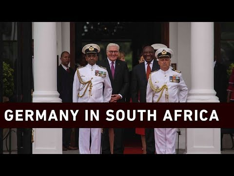 Ramaphosa hosts German President