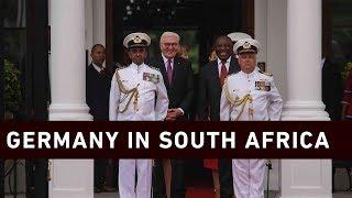 Ramaphosa hosts German President