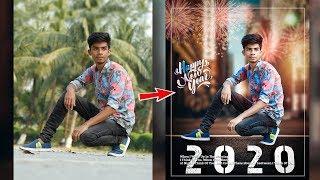Happy New Year 2020 creative photo editing tutorial🔥 Advance photo editing like photoshop