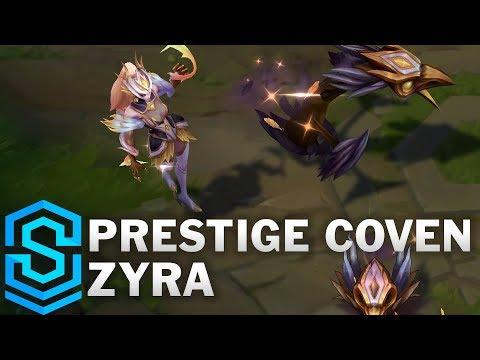 Prestige Coven Zyra Skin Spotlight - Pre-Release - League of Legends