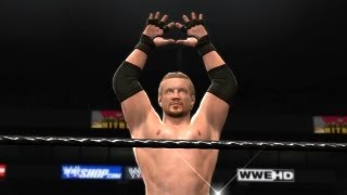 WWE '13 - Create A Move - DDP's Powerbomb Diamond Cutter