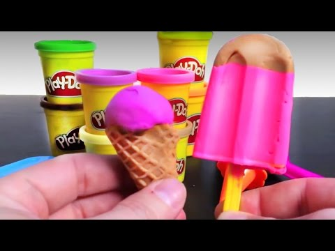 Thumbnail: Play Doh Ice cream cupcakes playset playdough by Unboxingsurpriseegg New shorter version