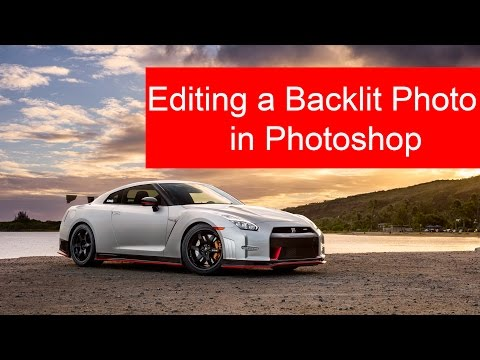 Editing A Backlit Scene In Photoshop