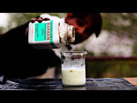 होश उड़ गए जब मेने दूध में इसे डाला - Potassium Permanganate Vs Milk | Top Awesome Experiment