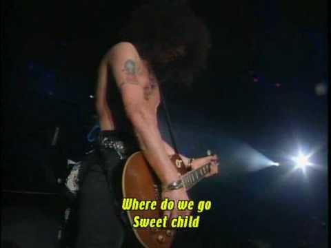 Guns N' Roses - Sweet Child O' Mine -  Live In Tokyo 92 UYI2 - 4/10