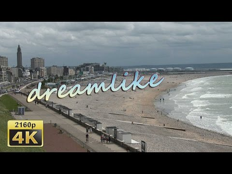The Beach of Le Havre, Normandy - France 4K Travel Channel