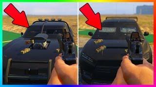 GTA ONLINE BEST NEW ARMORED BULLETPROOF CAR COMPARISON - DUKE O DEATH VS INSURGENT VS KURUMA TESTS!