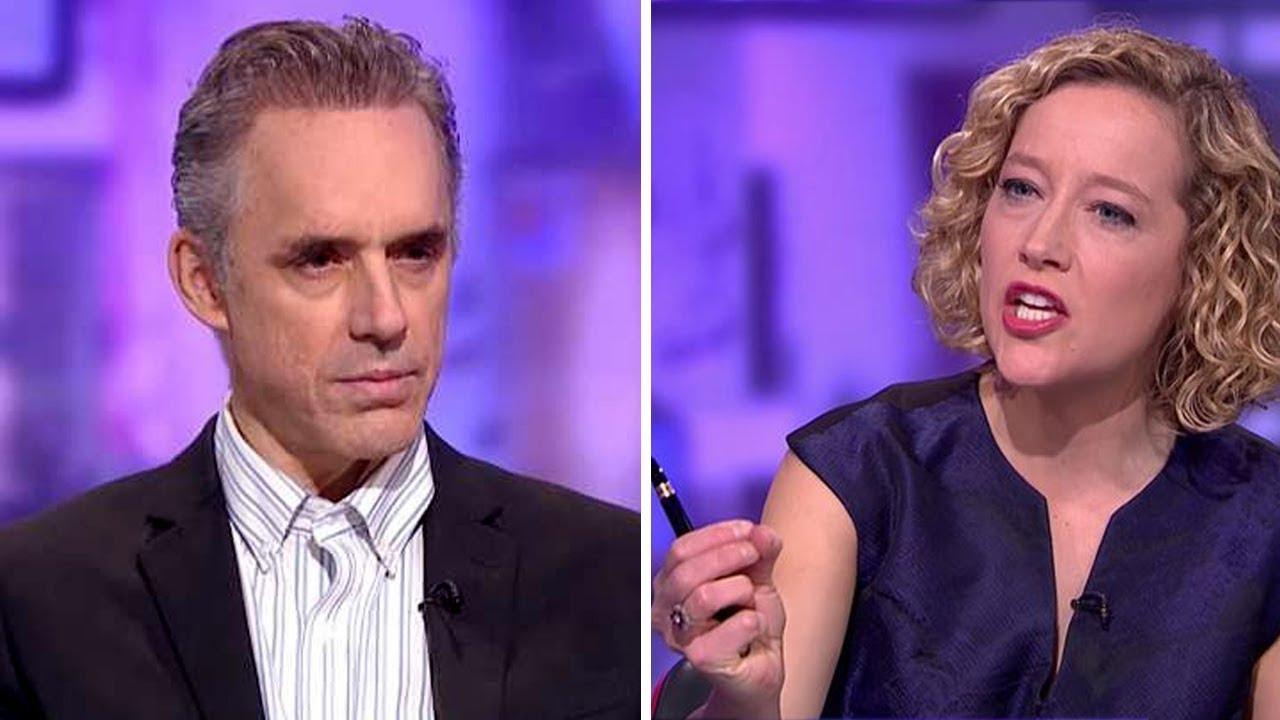 Minero Masculinidad Profesor  Jordan Peterson vs Cathy Newman - The